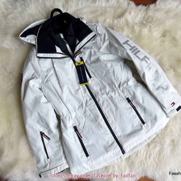 NWT Woman Tommy Hilfiger Ladies/' 3 In 1 Systems Jacket